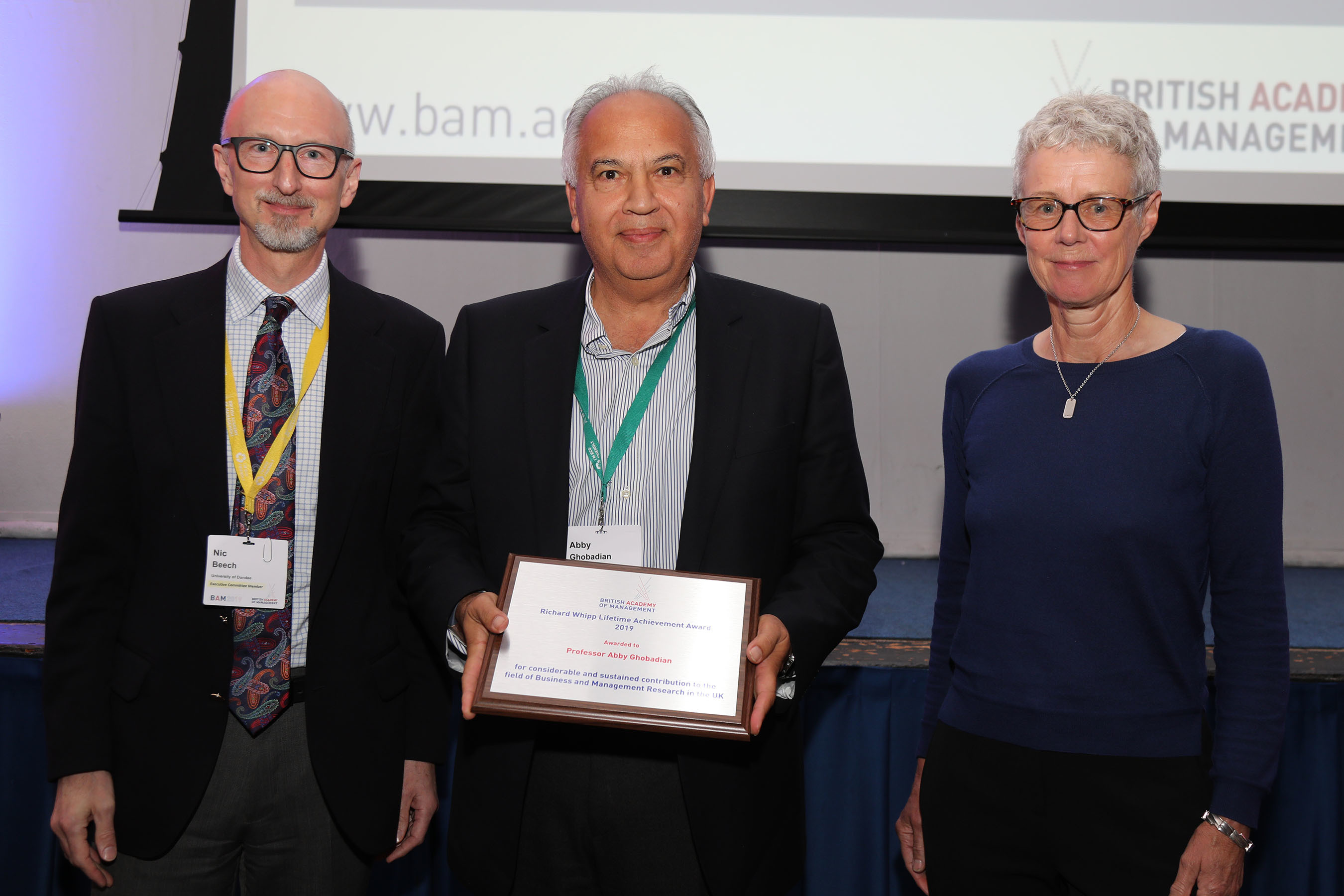 Henley professor receives British Academy of Management Lifetime Achievement Award