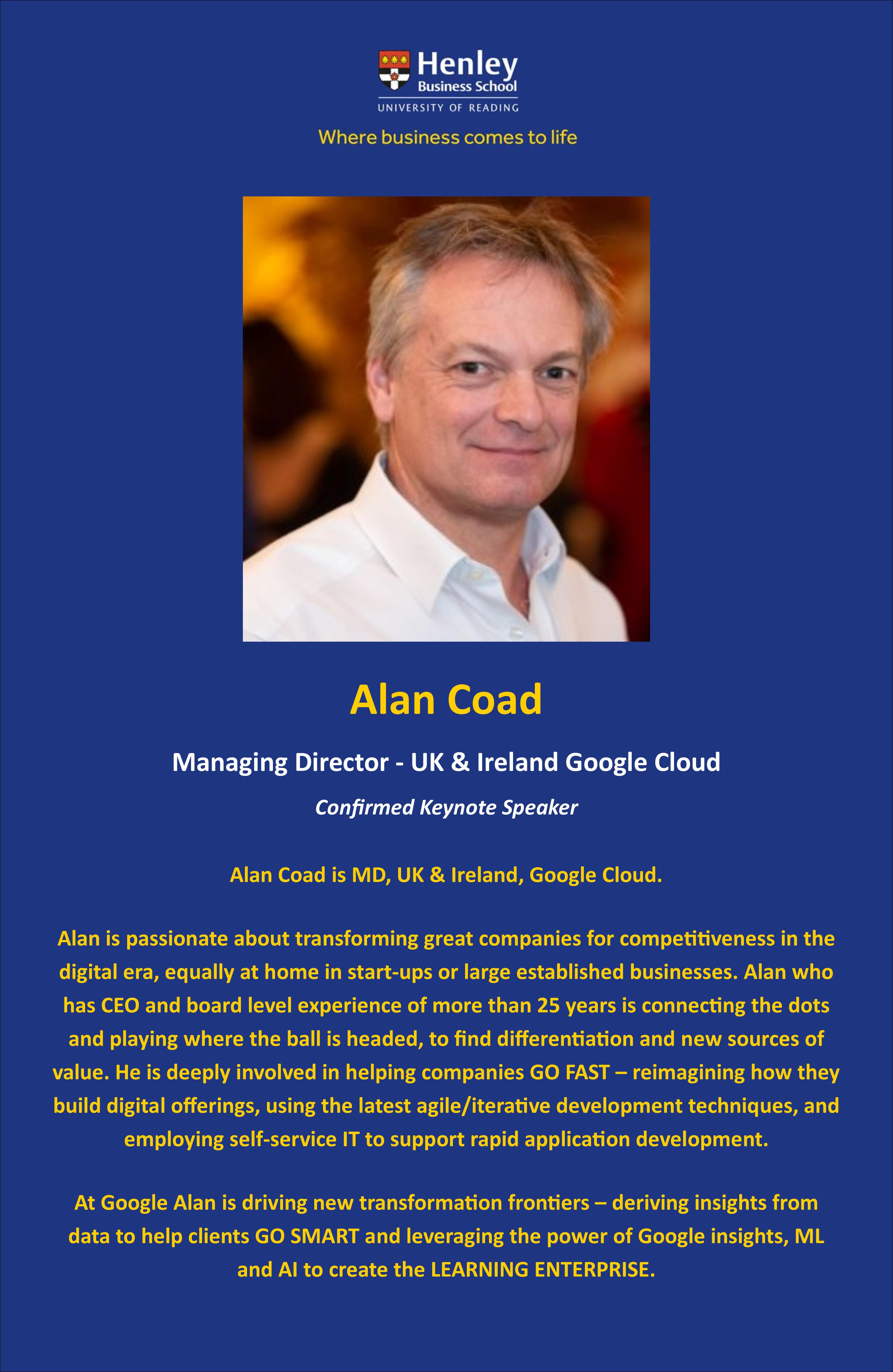Alan Coad Bio