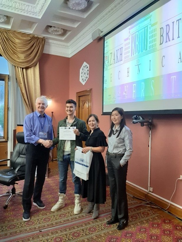 IDEAFEST Launches Internationally at the Kazakh-British Technical University in Almaty
