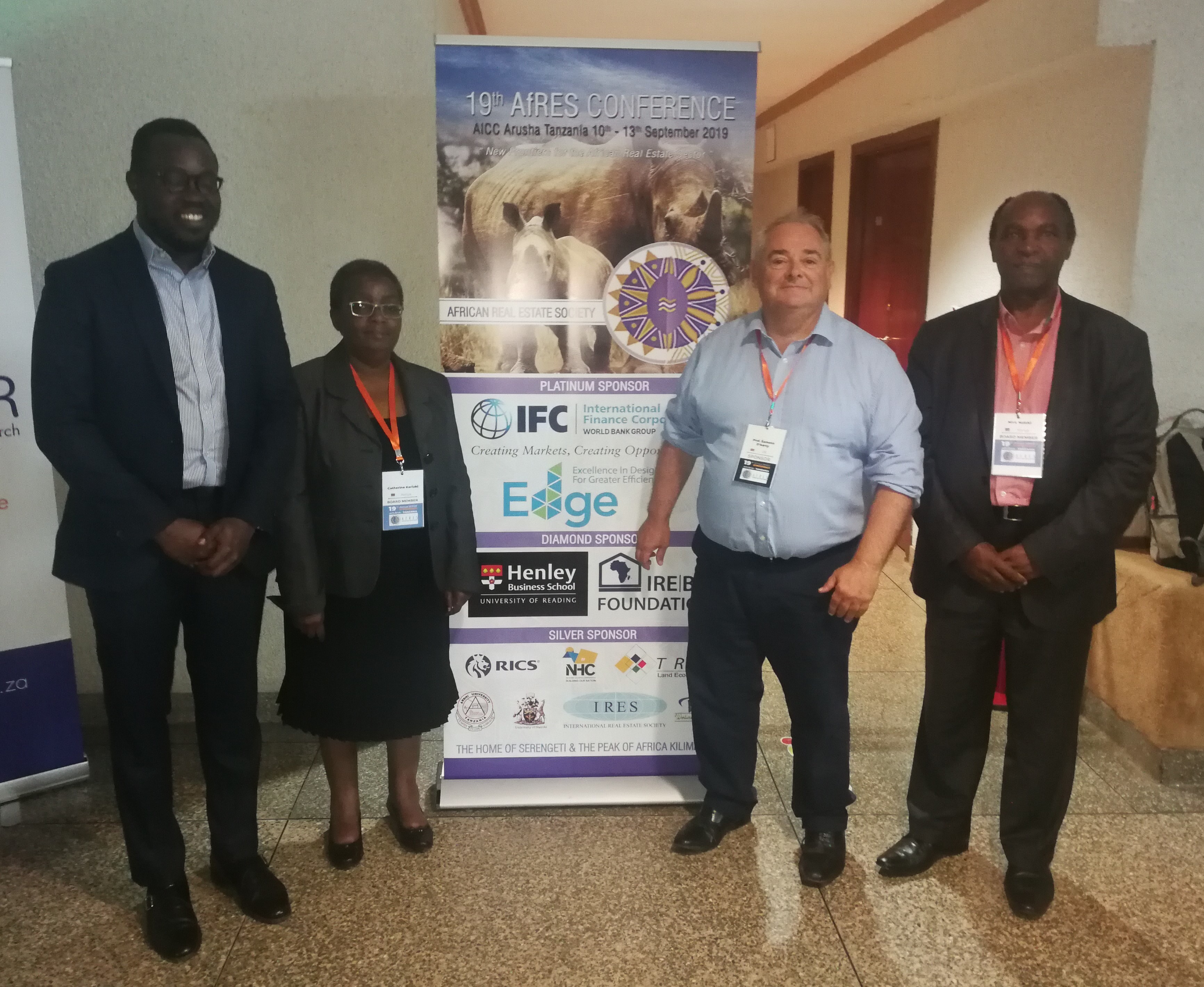 Henley Business School Sponsors 19th Annual Meeting of the African Real Estate Society