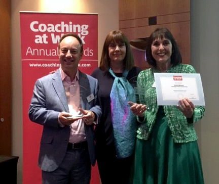 Coaching Centre research wins award for Best Article in Coaching at Work