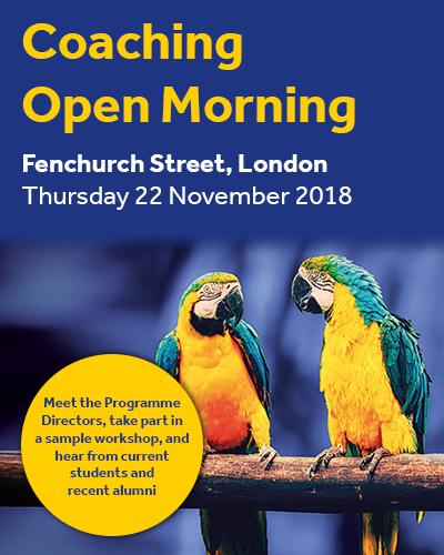 Coaching Open Morning London