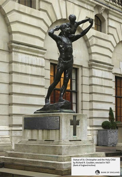 Copyright Bank Of England St Christopher