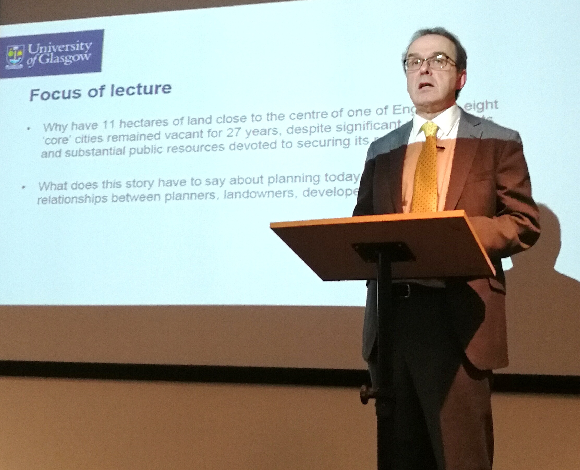 Real Estate & Planning host the sixth annual Planning Futures lecture