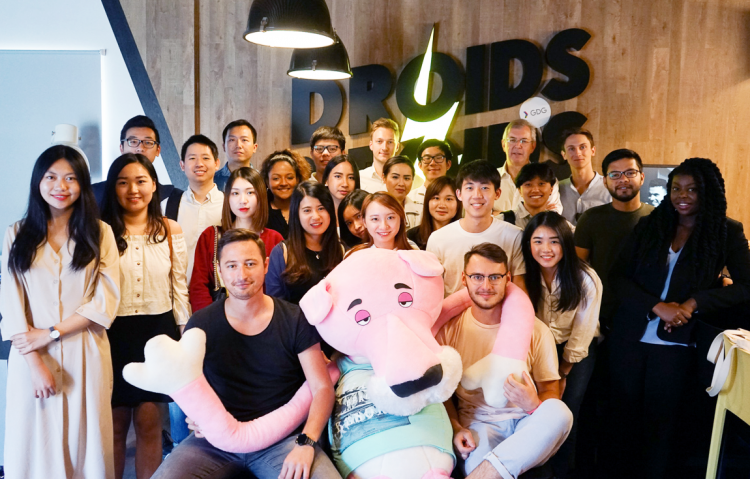 Henley Business School Students Visit Droids on Roids Offices