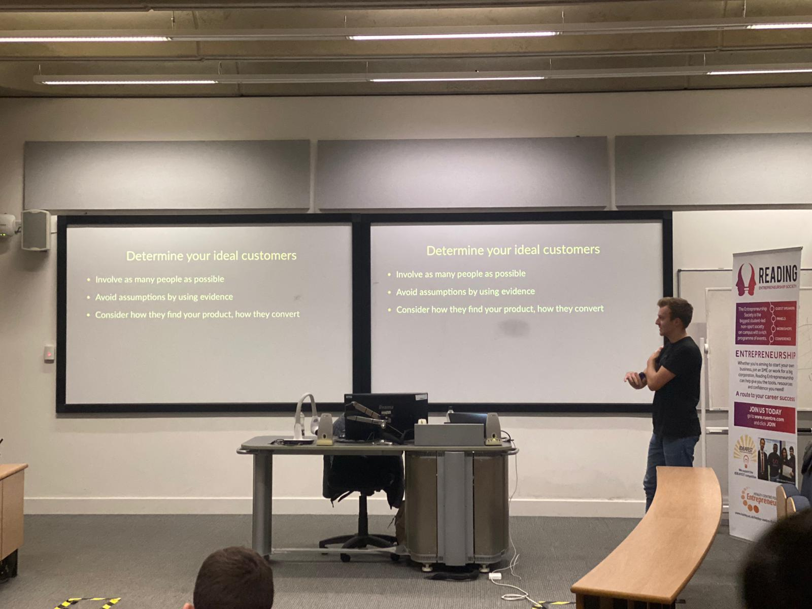 Entrepreneurship Society Lead Workshop to Guide Students on How to Launch a Tech Product