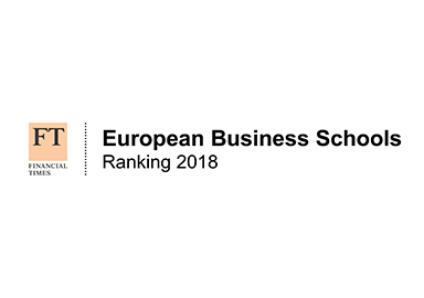 Financial Times European Business School ranking 2018