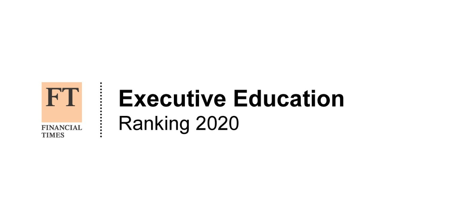 FT Executive Education Ranking 2020
