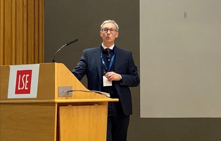Prof Gavin Parker delivers prestigious annual RTPI Nathaniel Lichfield Lecture