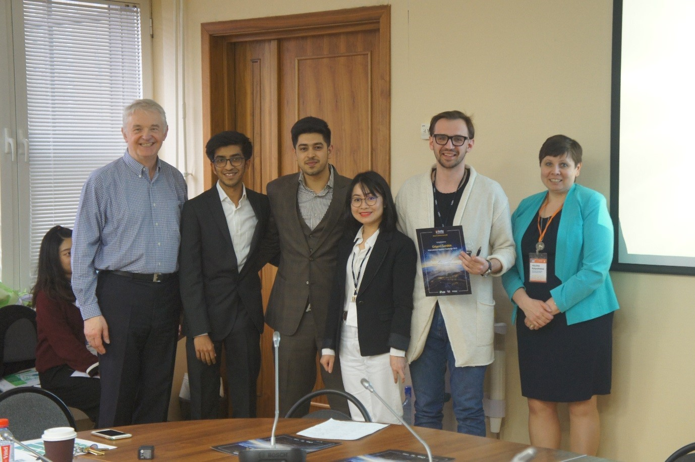Henley Business School Masters' Students Join the MGIMO Business Idea Competition