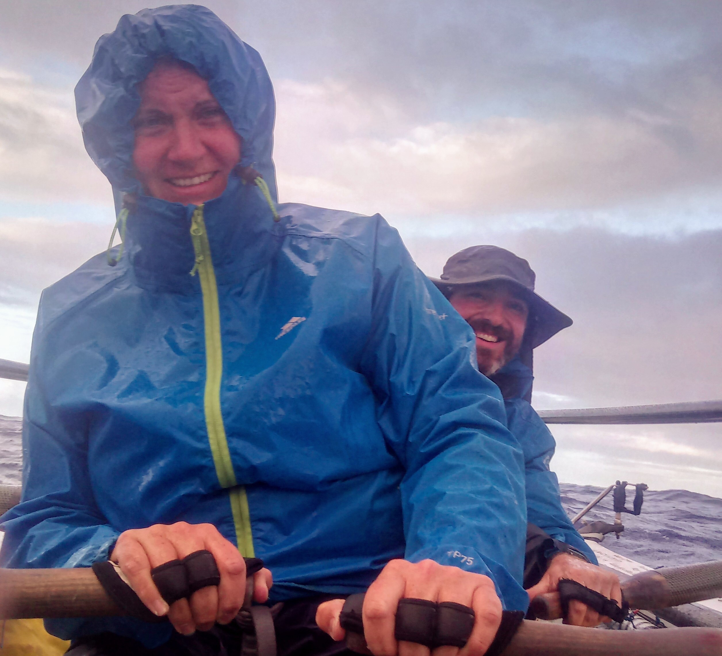 Heads Together and Row: Weather watching