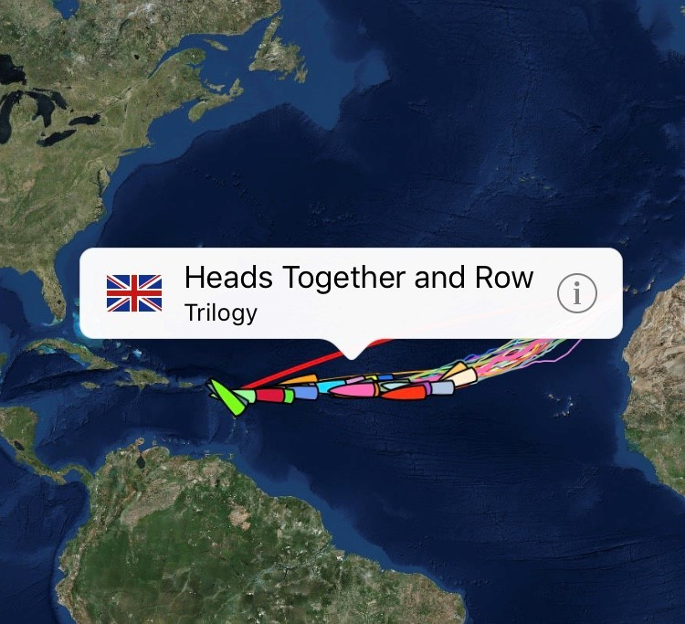 Heads Together and Row: Which way the wind blows