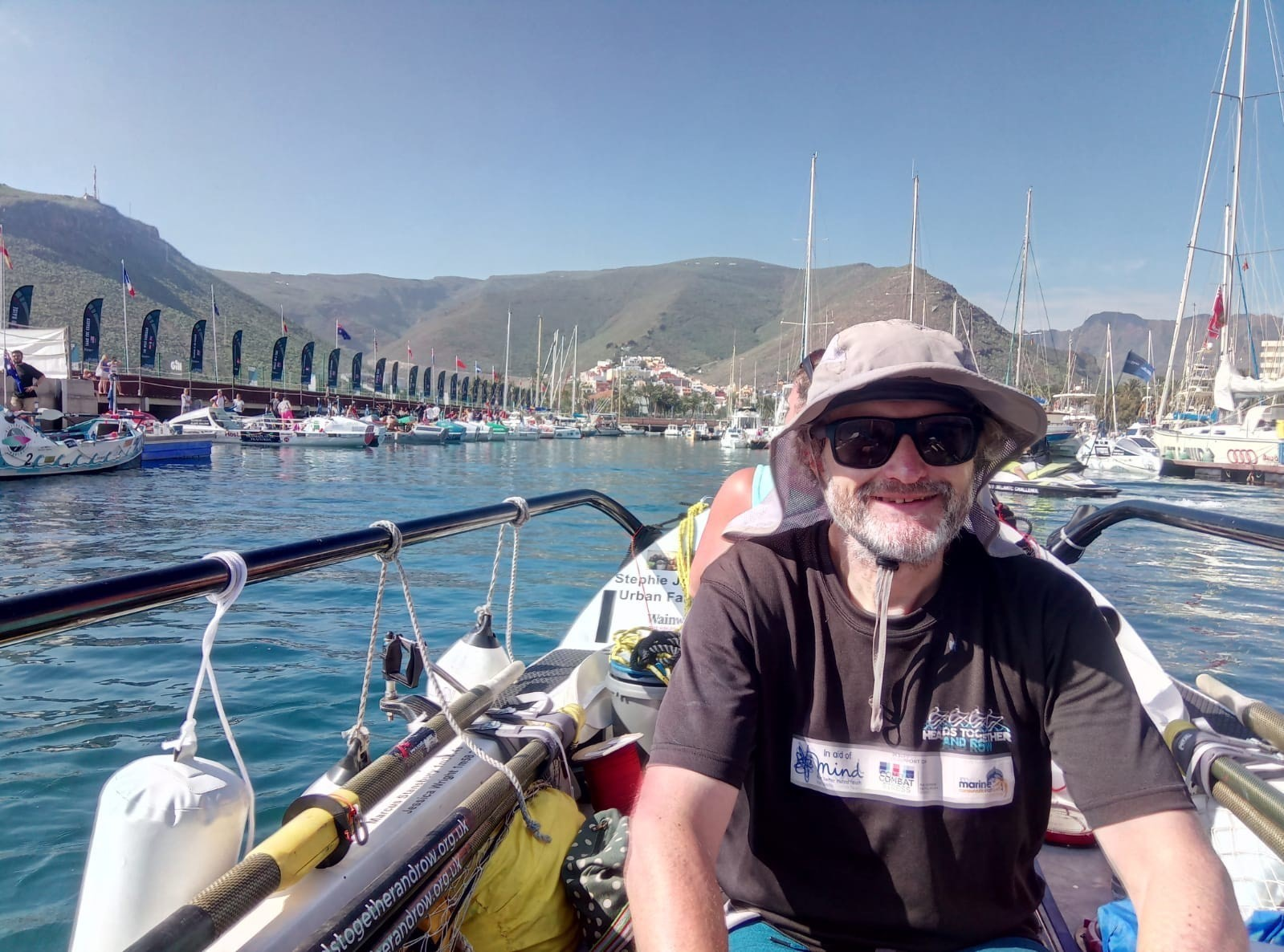 Heads Together and Row: Three things I've learned from three weeks at sea