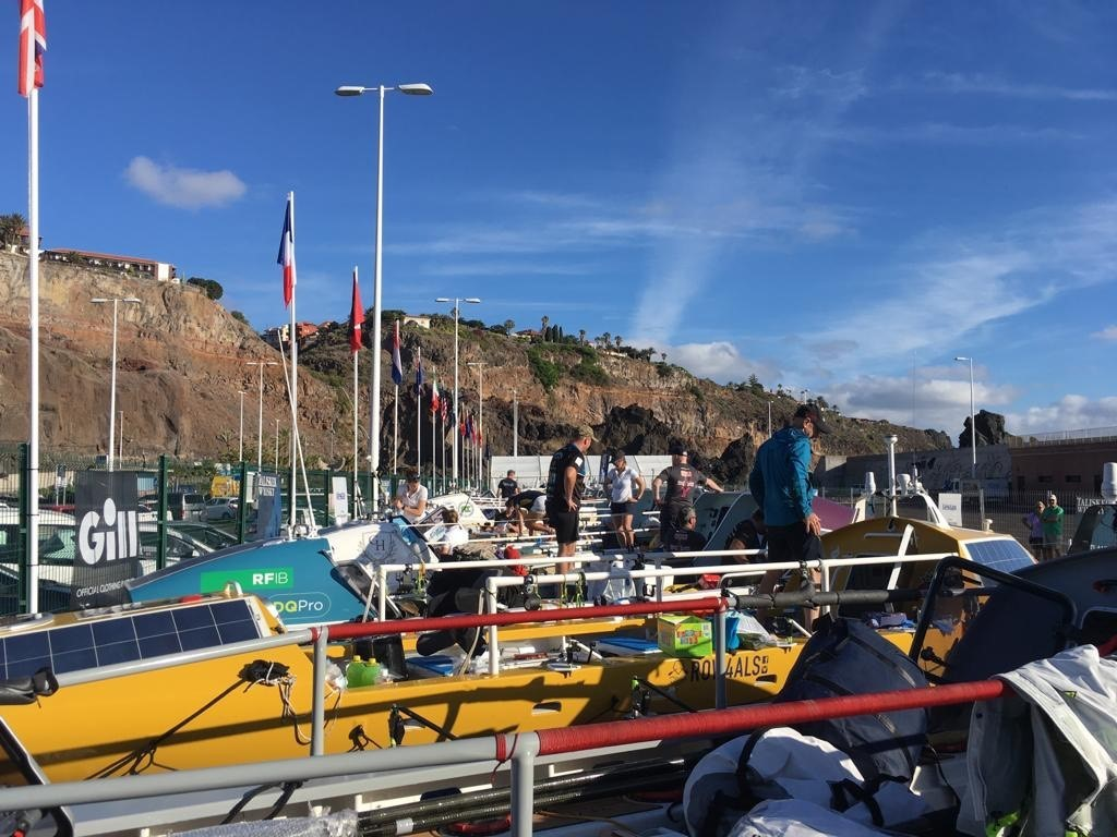 Heads Together and Row: Arrival in La Gomera