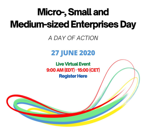 Professor Yipeng Liu Delivers Keynote Speech at United Nations Micro-, Small and Medium-sized Enterprises (MSMEs) Day 2020