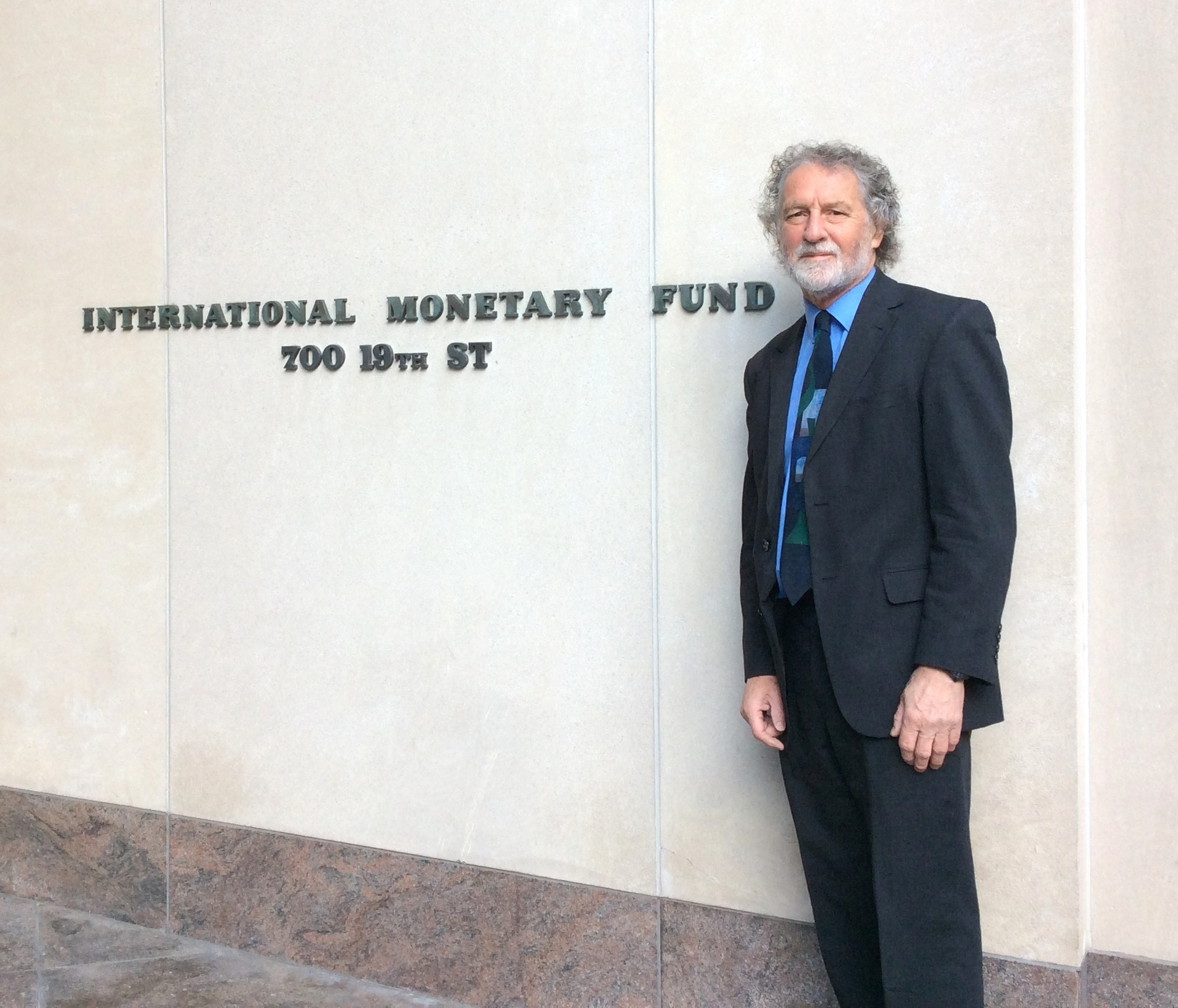 Neil Crosby at the IMF
