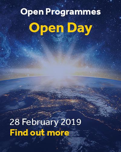 Open Programmes Open Day 2019