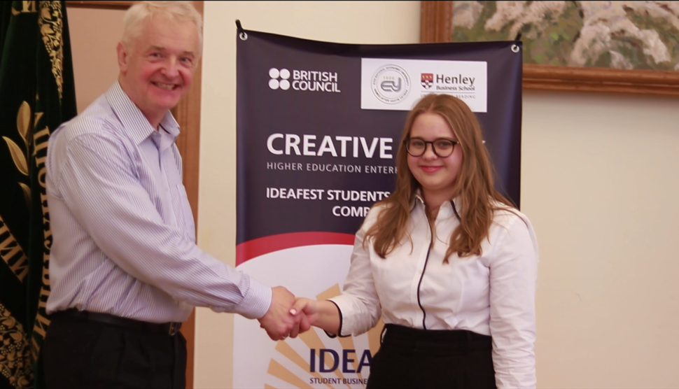 IDEAFEST Student Business Idea Competition Launches in Ukraine