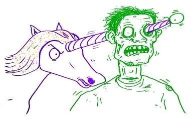 Unicorns vs Zombies