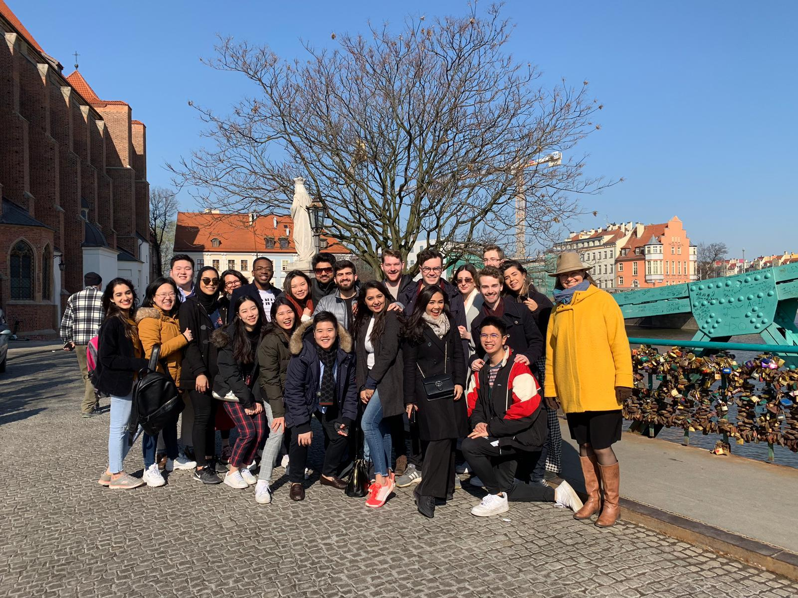 Henley Business School Students Enjoy Study Visit to Wroclaw, Poland