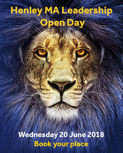 Ma Leadership Open Day Advert