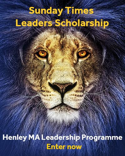 Ma Leadership Scholarship Advert