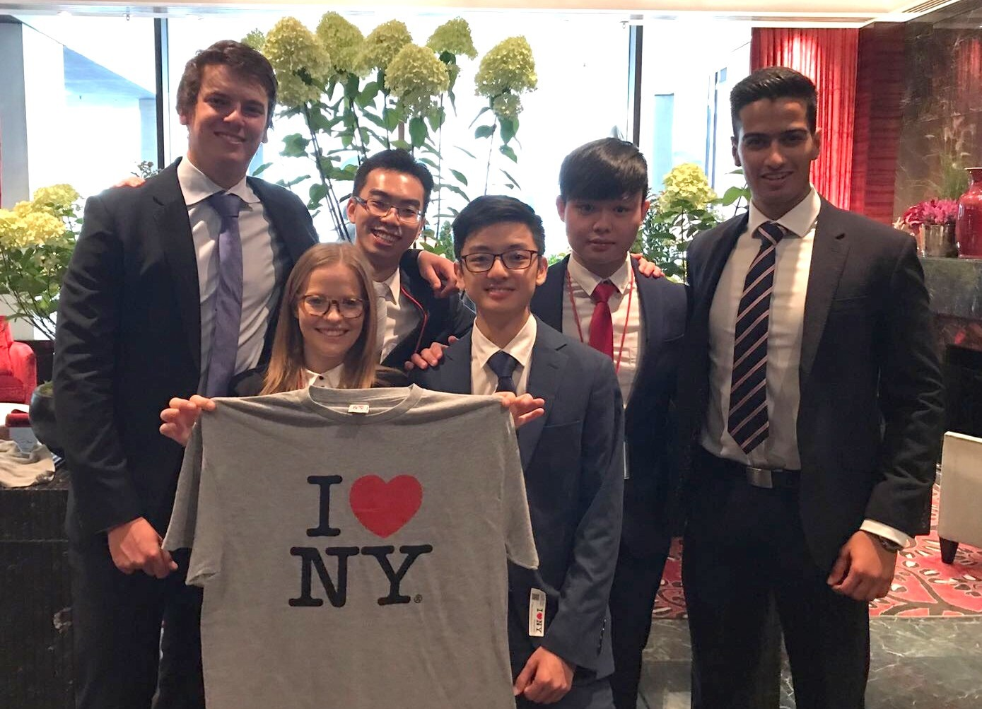 Undergraduate students from REP through to the final of the Cornell Real Estate Competition