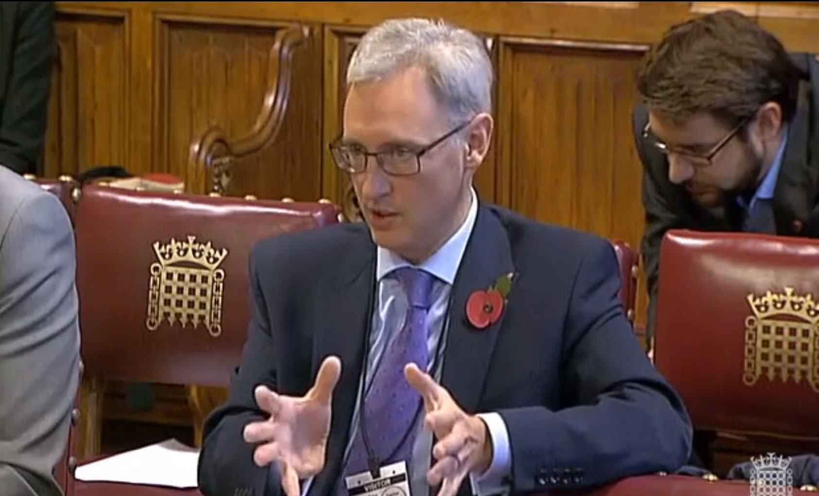 Professor Gavin Parker gives evidence at House of Lords committee