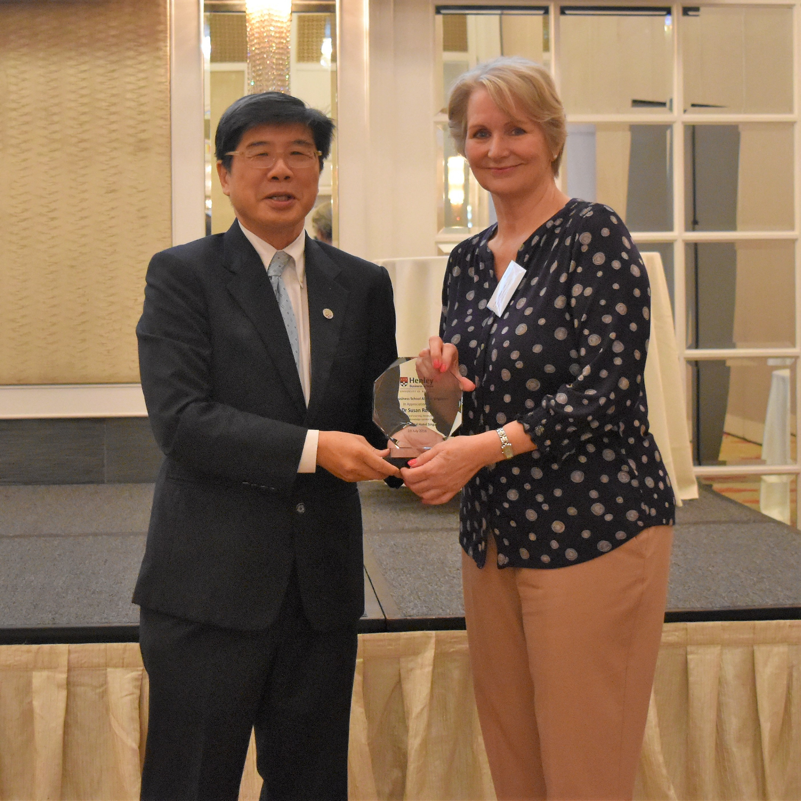 Professor Susan Rose receives Knowledge Sharing Award