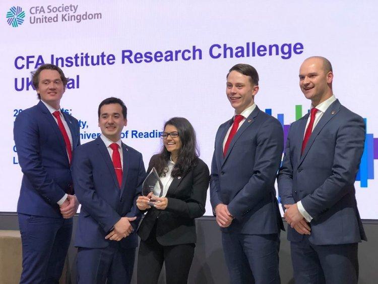 Students win CFA Institute UK Challenge