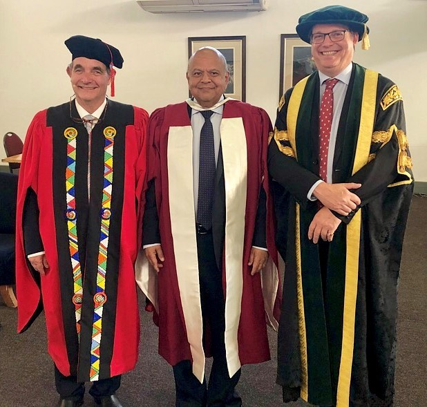 South African politician awarded honorary doctorate
