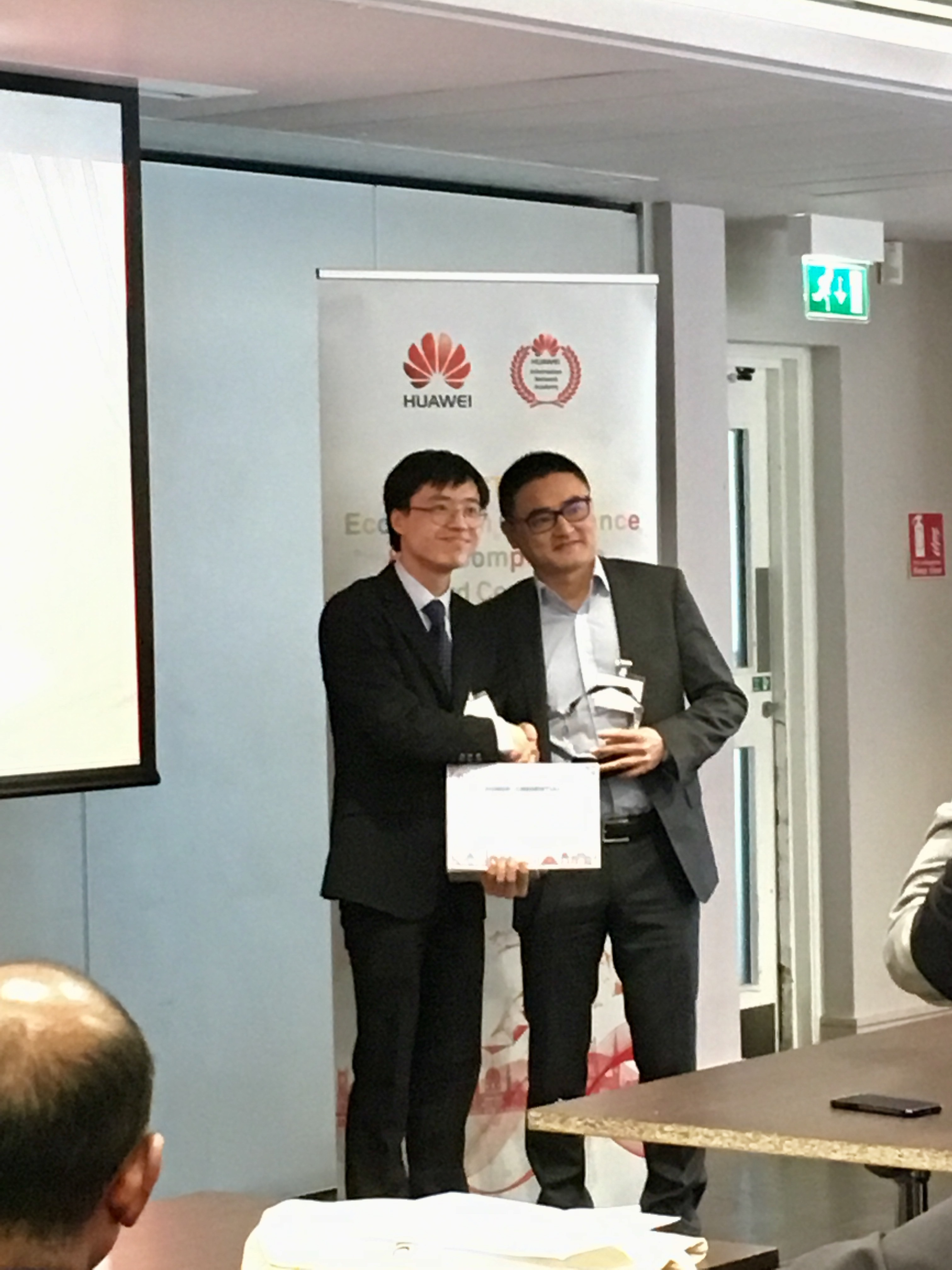 Huawei ICT skills competition 2018