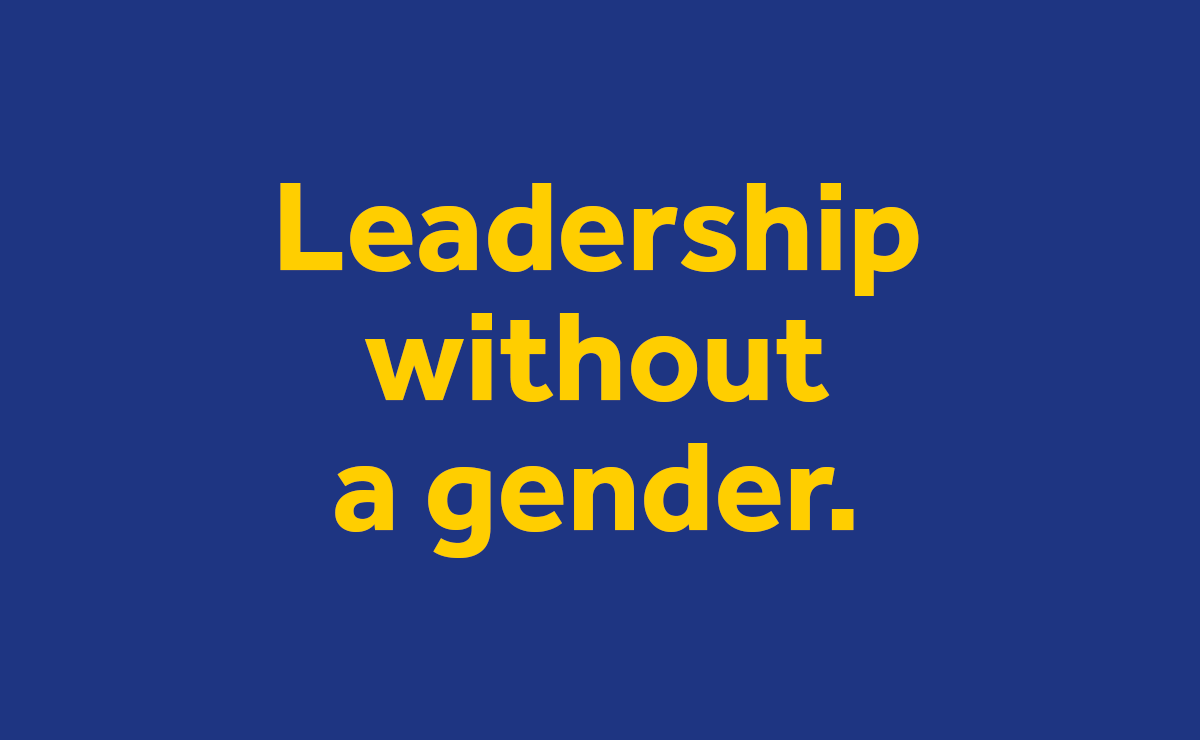 Leadership Without A Gender