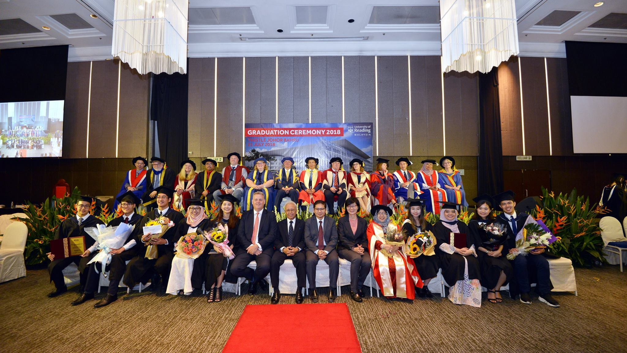 Graduation success for Malaysia students