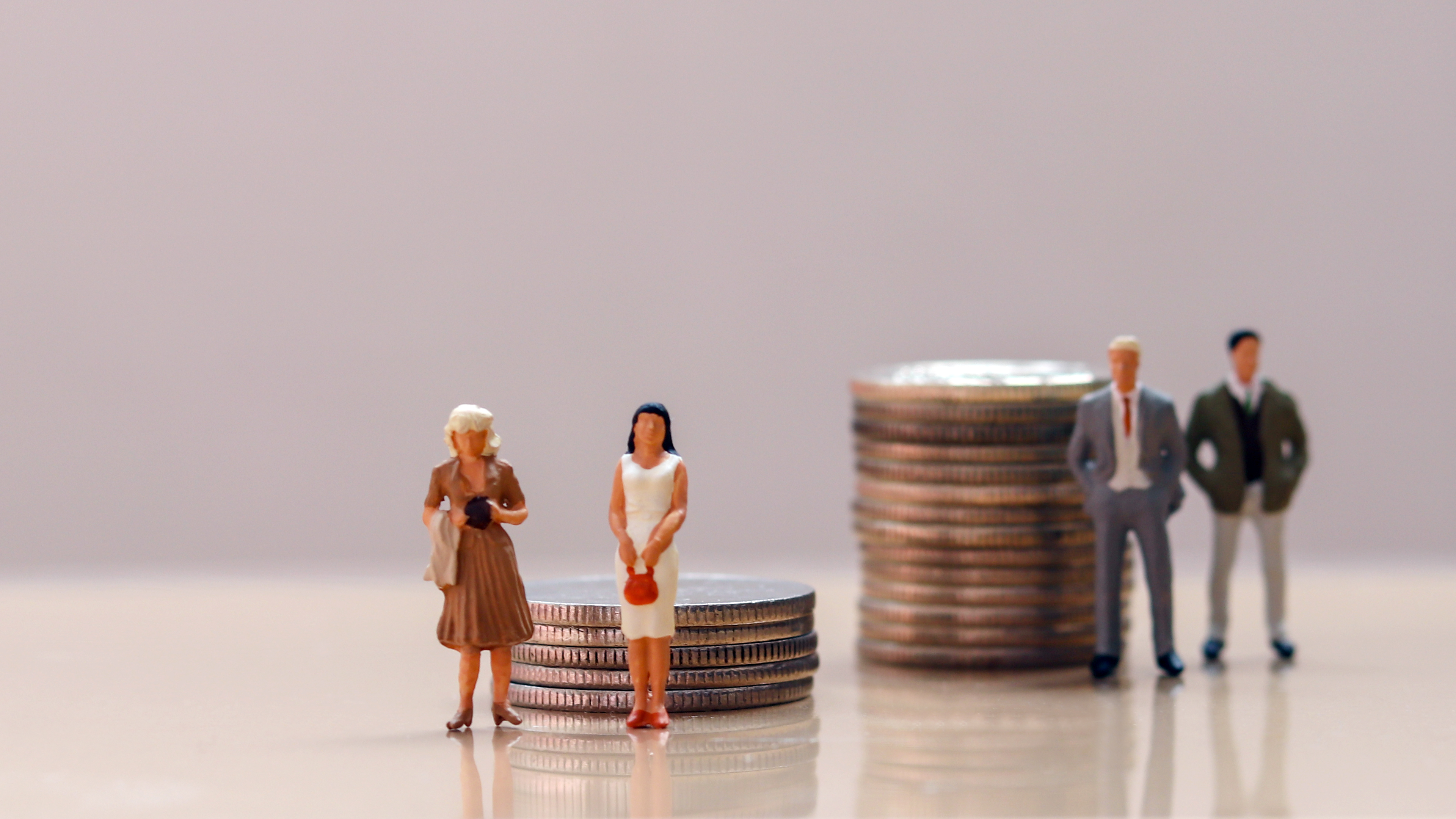 Gender pay gap becomes personal