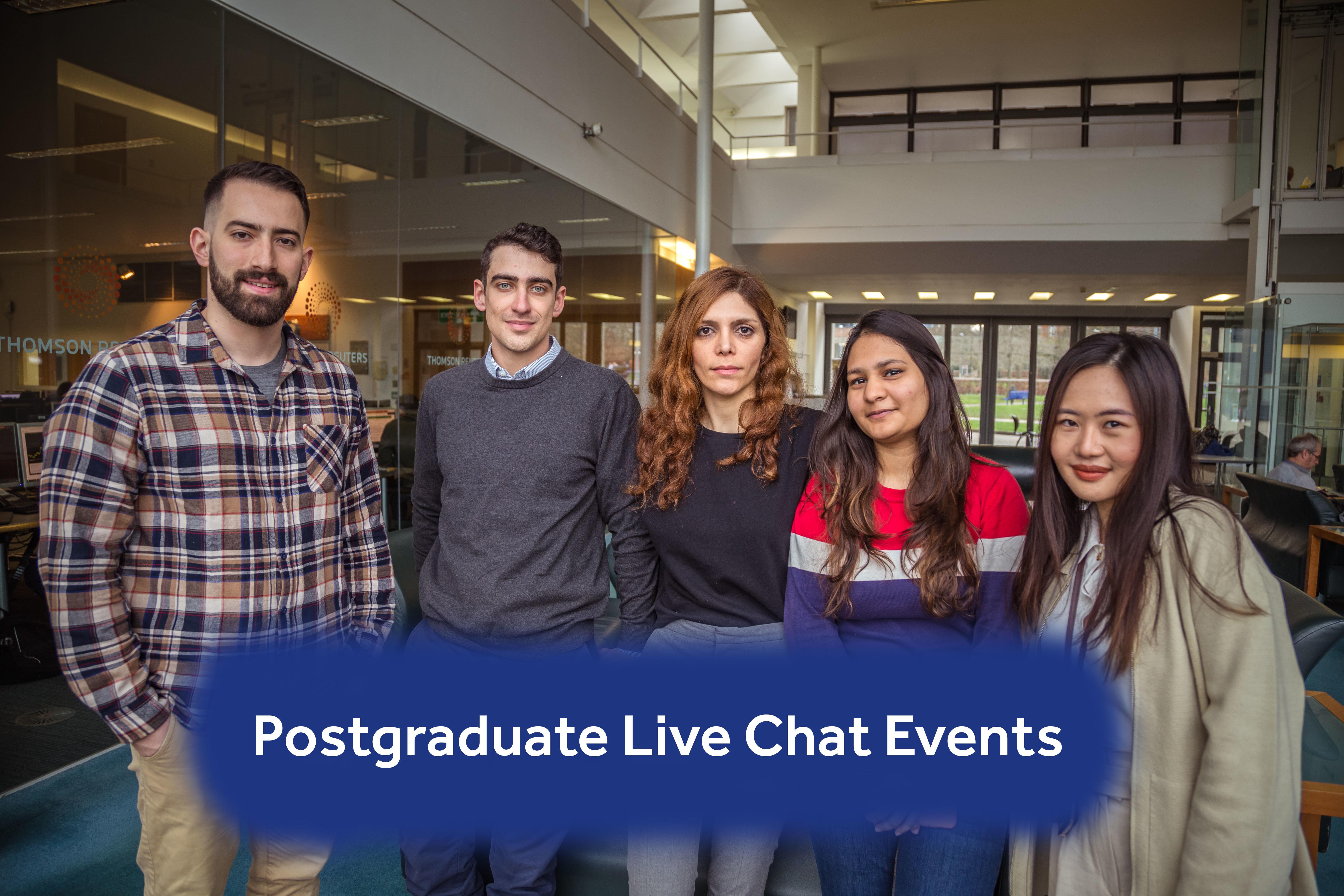 Postgraduate Live Chat