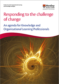 A new report on Change Leadership by the Henley Forum