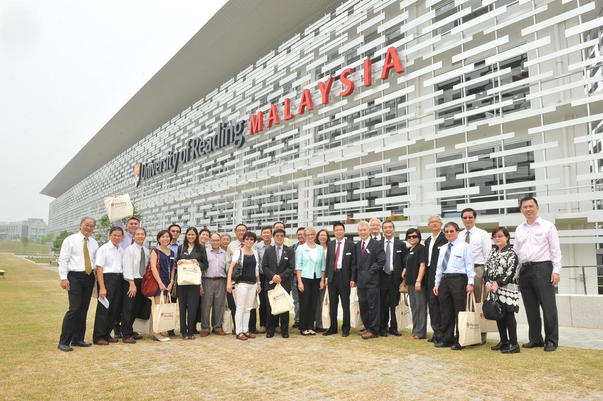 Alumni Visit New Malaysia Campus