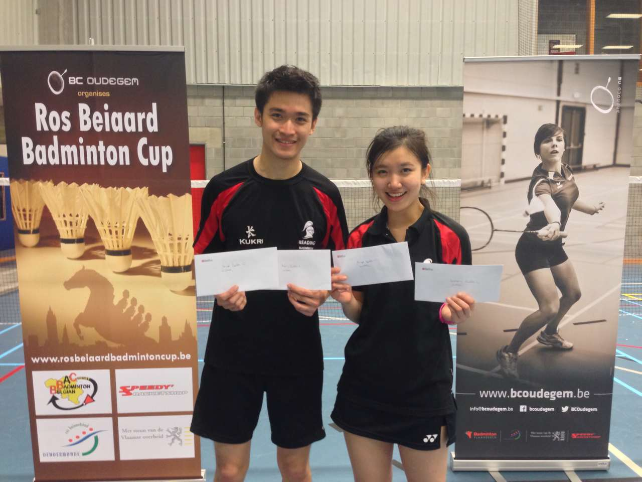 Badminton competition success
