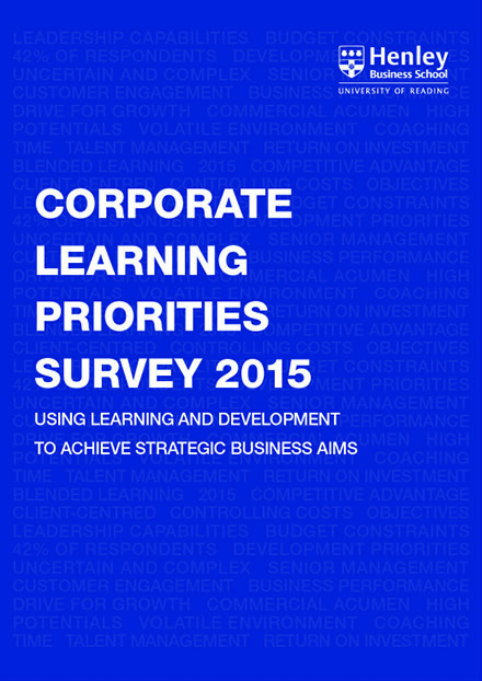 Businesses wake up to insights from the Henley Corporate Learning Survey 2015