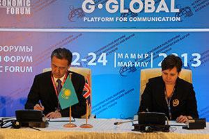Closer working ties between Kazakhstan and Henley Business School
