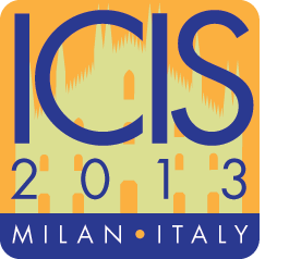 Informatics Research Centre at the International Conference on Information Systems (ICIS)