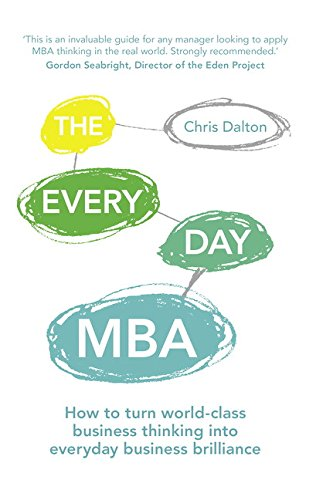 "Dr Chris Dalton has released a book called ""The Every Day MBA"""