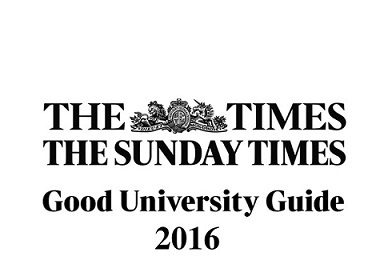 Excellent results for Real Estate & Planning in the 2016 Times Good University Guide