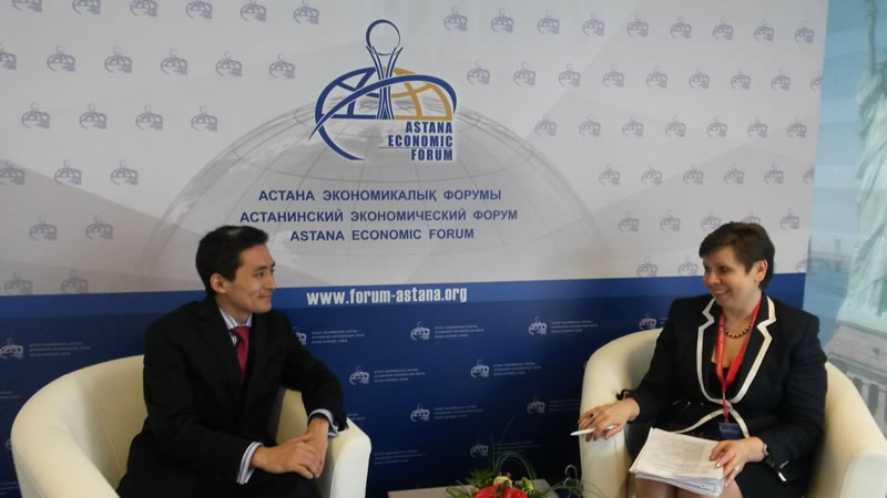 Henley Business School at VIII Astana Economic Forum