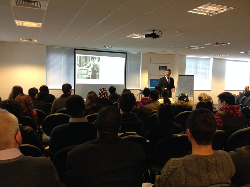 Henley Business School MSc students visit Dell