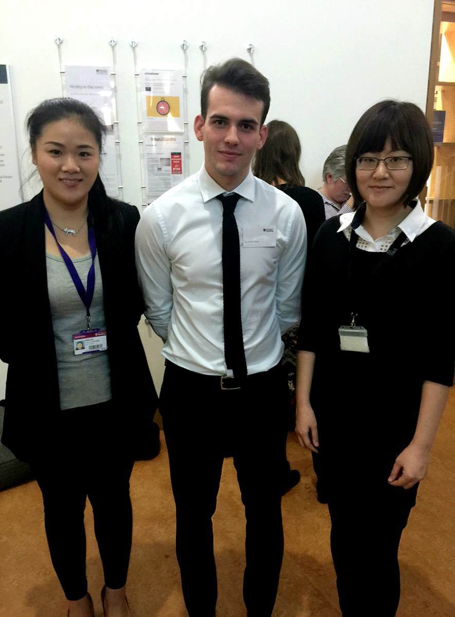 Henley Business School student won a UROP Poster Showcase Award