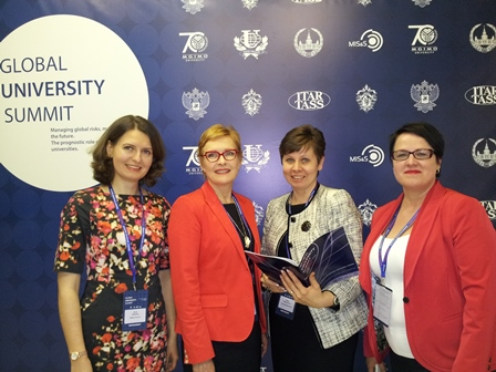 Henley Business School took part at the Global University Summit (GUS)