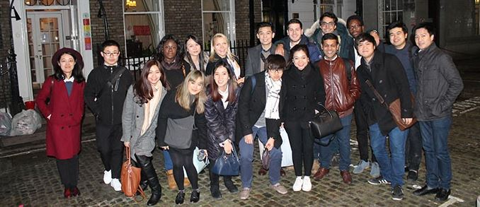 Henley MSc Entrepreneurship students visit Fab Lab London