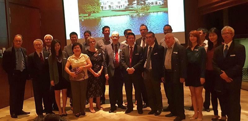 Kuala Lumpur Alumni Reception with Dean John Board